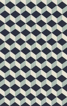 Would make an interesting rug design - possibly in less contrasting colours #Patterns