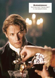 voyagersassenach:    Outlander definitions.- Businessman. (x)