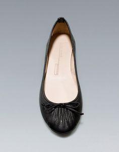 BALLERINE SOFT - Chaussures plates - Chaussures - Femme - ZARA Belgique