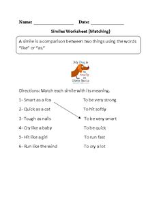 Worksheet Figures Of Speech Worksheet worksheets on pinterest englishlinx com figures of speech worksheets