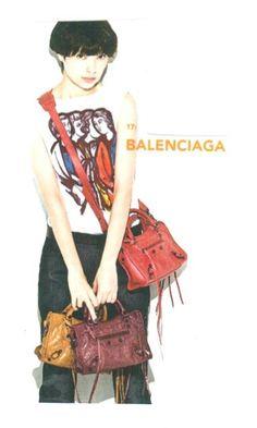 lovebbags.com: Balenciaga Arena Classic Mini City & Papier Tote