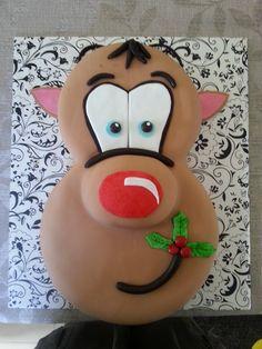 Reindeer Cake