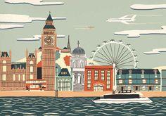 London. | 15 Hand-Drawn Illustrations Of Cities Around The World