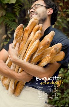 French Baguettes all day very day! Small Goat, Bakery Display, Food And Thought, French Baguette, Brunch Buffet, Bistro, Our Daily Bread, Food Articles, Bread Board