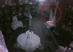 Ghostly Figure on Camera: I thought you might like to see this ghost photo. It's quite famous here in Scotland, it's not mine!!! This was captured by Dan Clifford on his security