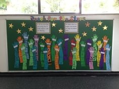 PSHE and Rules, Reach for the Stars, Display, Classroom display