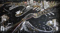 Sydney Stellar Acrylic on Canvas