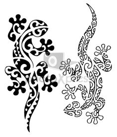 maori animal tattoo | Zoom Not Available: Vector images scale to any size