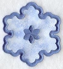 Machine Embroidery Designs at Embroidery Library! - Snowflakes & Snowmen (Applique)
