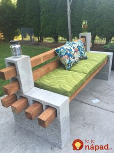 Betónové tvárnice môžete v záhrada využiť skutočne geniálne. Pozrite najlepšie nápady, ktoré vás určite inšpirujú! :-)