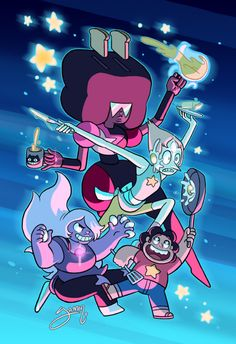Steven Universe Comp Here you go pals, another comp. Damn, it looks like comps are making a comeback now that the show is off hiatus. Steven Universe Wallpaper, Steven Universe Gem, Universe Art, Universe Images, Amethyst Su, Steven Univese, Pokemon, Lapidot, Animation