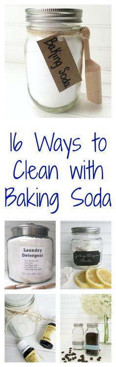 I never knew there were so many ways to clean with baking soda. These cleaning tips are amazing!