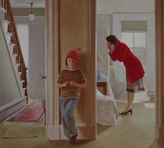 July Bride - David Graeme Baker Painting