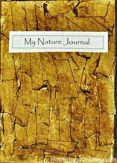 Creative Nature Journal Idea