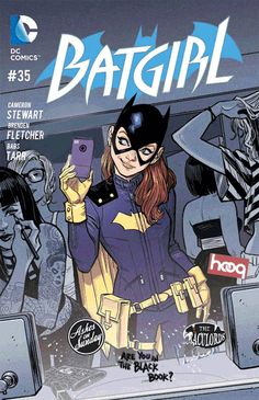 babsdraws:  batgirlofburnside:  Don't forget to PREORDER Batgirl #35 at your local comic shop TODAY! If you haven't already, please tell your retailer that you want - need - a copy of Batgirl #35.  (Animated GIF by Babs!)