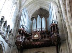 Nantes, Basilique Saint-Nicolas Grand orgue 41 jeux, 3 claviers / Pédalier Beuchet-Debierre (1963), Hurvy (2002)