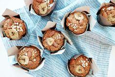 Muffin GoGo Quinoa à la Banane et Sarrasin | GoGoQuinoa