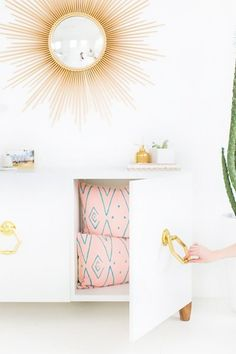 12 Chic IKEA Hacks for Your First Apartment via @MyDomaine