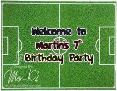 Soccer place mat Worldcup Football, Football Birthday, Soccer, Neon Signs, Party, Futbol, Soccer Birthday, European Football, Parties