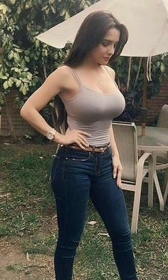 Hot chicks in xxx low cut jeans #1