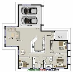 3 bedroom huge living area real estate house plans double garage for sale ebay