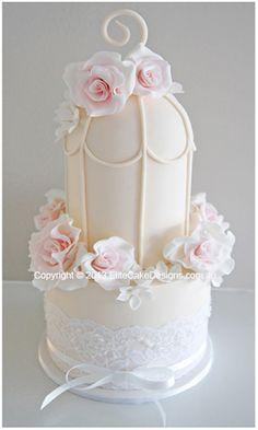French Bird Cage wedding cake