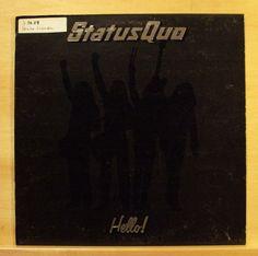 STATUS QUO - Hello ! - Vinyl LP Roll over lay down Caroline A Reason for living in Musik, Vinyl, Rock & Underground | eBay