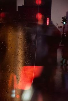 New York Colours '50s Photos by Saul Leiter