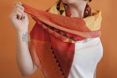 scarf 90x90cm