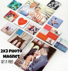 FREE 2x3 Photo Magnet