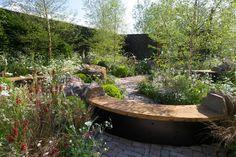 harry and david rich: vital earth / the night sky garden, rhs chelsea 2014