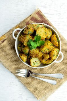 Recipe for Bombay Potatoes