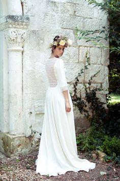 """Robe de mariée """"Louise"""", Élise Hameau"""