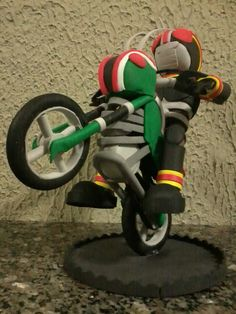 Roberto Pradoster: Black Kamen Rider em E.V.A. 3D (Fofucha).