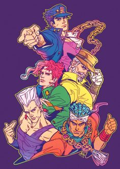 """Brain.Curry en Twitter: """"everyday we're voguinganother batch frm the old jojo fanbook… """""""