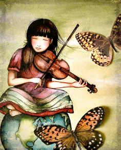 the violinist's  gift ~Claudia Tremblay