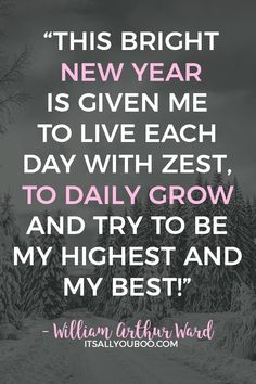 Happy New Year! Here are 52 Inspirational End Of Year Quotes and Sayings for closing the year. Plus, take the FREE New Year's Resolution Quiz. End Of Year Quotes, Quotes About New Year, Quotes To Live By, Hd Quotes, Best Quotes, Motivational Quotes, Life Quotes, Bright Quotes, Happy New Year Message
