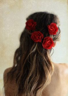 Red Roses, yes I think I'll do this.
