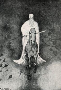 """walpurgishall: """" Theodor Kittelsen """"Apokalypsen Döden"""", 1906 """""""