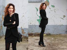 Nina Dunin Dress Suit, Amn Black Dress