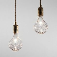 Lee Broom Crystal Bulbs