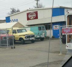 60s Long Chevy van