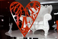 Design of Love. Plastic Chairs.