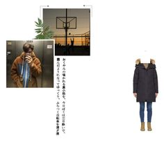 """""""『 Out : Kyungwoo 』"""" by the8-official on Polyvore featuring Canada Goose, men's fashion and menswear"""