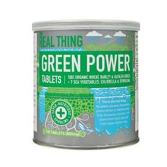 A powerful blend of organic wheat, barley and alfalfa grasses, nutritious sea vegetables and chlorella.