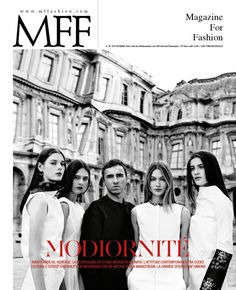 Raf Simons for MFF – Magazine For Fashion