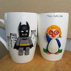 """Пороро и Лего Бэтмен желают все доброго утра! А я сегодня обещаю одну маленькую потешку вам  в ленту """"в наличии"""" . Думаю что 16.00 поспеет"""