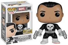 Funko Pop! Marvel Punisher Exclusive Vinyl Figure