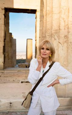 "Joanna Lumley, age 70 Starred in the series ""The New Avengers"" Joanna Lumley, Ab Fab, Srinagar, British Comedy, Advanced Style, Absolutely Fabulous, Old Women, Role Models, Aging Gracefully"