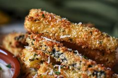 This healthy recipe for Baked Zucchini Sticks tastes so good - you won't believe they are not fries. Includes methods for air fryer and oven. Baked Zucchini Sticks, Bake Zucchini, Zucchini Tomato, New Air Fryer Recipes, Banana Zucchini Muffins, Easy Zucchini Recipes, Yummy Recipes, Cod Fish Recipes, Tomato Bread